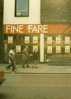 My mother used to shop there when I was little.
