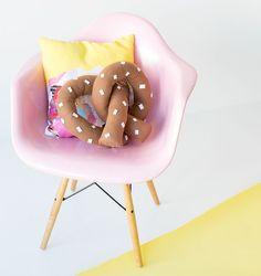 pretzel almohada