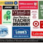 100 Stores That Give a Teacher Discount. I wish I would have known about this a long time ago!!!