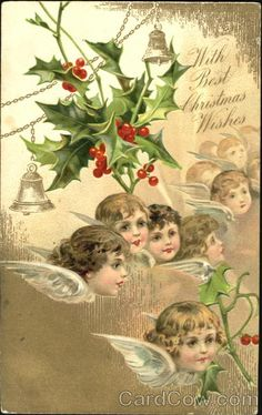 Sweet angles from Heaven Wishing Christmas Angels