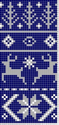fair isle pattern | Tricksy Knitter by Megan Goodacre: Fair Isle Scarf ...