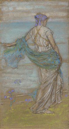 Annabel Lee James Whistler 1885 Freer Gallery of Art Annabel Lee, James Abbott Mcneill Whistler, Freer Gallery, Art For Art Sake, Illustrations, American Artists, Female Art, Book Art, Art Projects