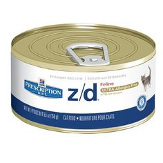 Hills Diet zd Ultra Allergen Feline Canned Cat Food 24 55oz Cans ** Read more reviews of the product by visiting the link on the image.Note:It is affiliate link to Amazon.