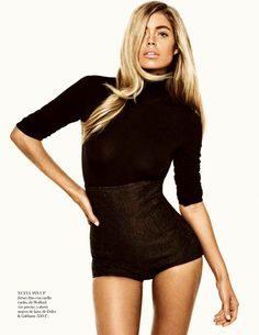 doutzen kroes by tom munro for vogue spain september 2013