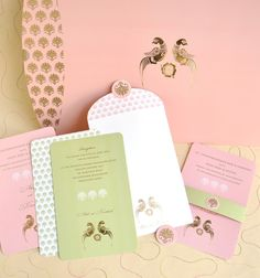 """What's the first thing that pops into your head when someone says """"wedding card""""? Something in gold, red or cream, maybe? Long gone are those days. Step into 2017 and there are SO many options to pick from! Watercolours and florals are just some of the 20+ types of invites couples can now opt for. But there's one that totally breaks away from the stereotypical Indian wedding invite - the pastel card.Pastels have been hot in weddingfashion for a few years now, and most people se..."""