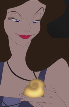 This is my favorite laugh ever. The laugh she makes at this exact moment in the film. Evil Disney, Dark Disney, Disney Love, Disney Magic, Disney Art, Disney Pixar, Vanessa Little Mermaid, The Little Mermaid, Disney Magazine