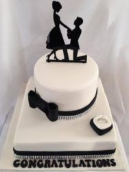 Engagement Cakes with Fondant Elephant Decorations Pictures - Yahoo Search Results Yahoo Image Search Results Engagement Cake Design, Engagement Cakes, Engagement Ideas, Engagement Rings, Beautiful Wedding Cakes, Gorgeous Cakes, Fondant Elephant, Ring Cake, Cake Images