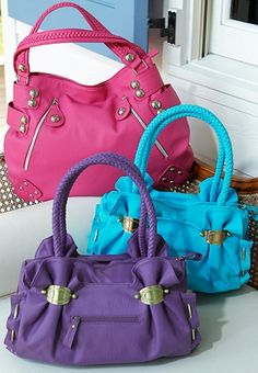 Lovely colours.. #handbags #fashion