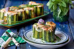 Dulce y Salado: Calabacines Rellenos de Atún
