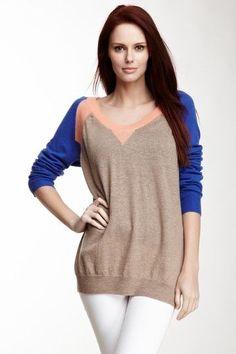 Colorblock Sweater.