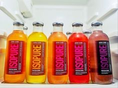 The many choices of Isopure.
