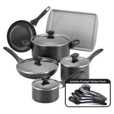 Farberware 15 Piece Nonstick Cookware Set