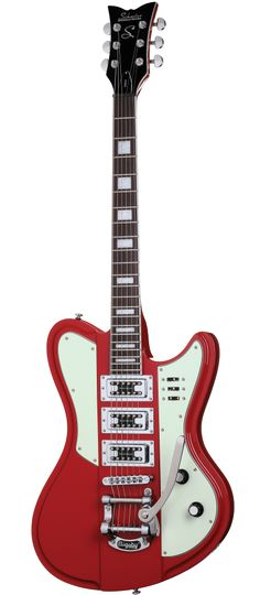 Schecter Ultra III Electric Guitar Vintage Red