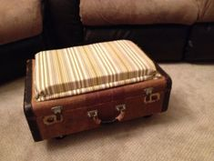 Repurposed Suitcases: From Filing