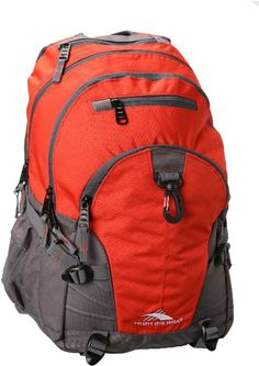 Amazon.com: High Sierra Loop Backpack (19 x 13.5 x 8.5-Inch, Red Line/Charcoal): Sports & Outdoors