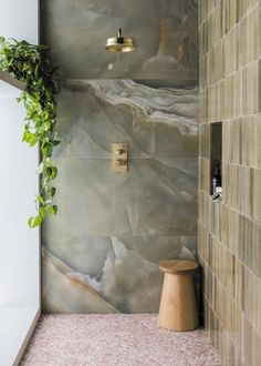 Beautiful Bathrooms, Modern Bathroom, Green Marble Bathroom, Italian Bathroom, Eclectic Bathroom, Gray Marble, Neutral Bathroom, Transitional Bathroom, Bathroom Styling