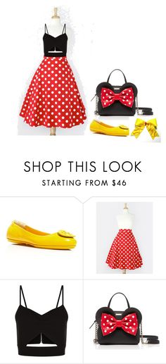 """Minnie Set"" by bellnadh on Polyvore featuring Tory Burch, Racil and Kate Spade"