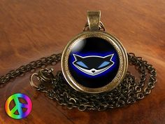 Sly Cooper PS2 PS3 Video Game Games Gamer Cosplay Necklace Pendant Jewelry Gift
