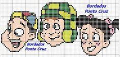 Mais gráficos – Turma do Chaves em Ponto Cruz