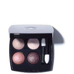 CHANEL Les 4 Ombres Multi-Effect Quadra Eyeshadow (81 CAD) ❤ liked on Polyvore featuring beauty products, makeup, eye makeup, eyeshadow, chanel, chanel eye shadow, palette eyeshadow, chanel eye makeup and chanel eyeshadow