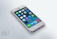 Leo Drapeau's re-invisioned iOS7.