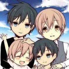 awwwww how cute I wish I had a family like that 😍😍😱😱 Ten Count, Takarai Rihito, Shounen Ai, Bungou Stray Dogs, Fujoshi, Manga To Read, Counting, Manhwa, Watercolor Paintings