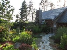 Luxurious+oceanfront+cottage+offering++secluded+beaches,+forest+trails,+gardens++++Vacation Rental in Vancouver Island from Forest Trail, Secluded Beach, Vancouver Island, Home And Away, Vacation Rental Sites, Around The Worlds, Cottage, Luxury, Outdoor Decor