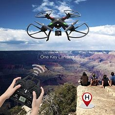 Best Drone with Camera 6 Axis Gyro Altitude Hold One Key Return Headless Mode Parrot Ar Drone, Remote Control Drone, Uav Drone, Drone Photography, Technology Gadgets, Hold On, Key, Unique Key, Keys