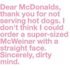 I think this would be the only thing I would super size at McDonald's