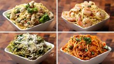 Spaghetti 4 Ways Easy and quick recipes for our favorite Pasta
