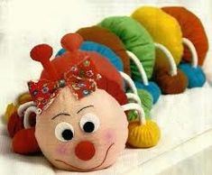 Sock Crafts, Felt Crafts, Fabric Crafts, Diy And Crafts, Felt Dolls, Doll Toys, Sewing Toys, Sewing Crafts, Diy Rag Dolls