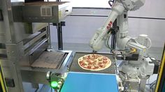 This restaurant is using robots to make pizza Read more Technology News Here --> http://digitaltechnologynews.com  California startup Zume believes software machines and humans are the secret to making the perfect pie. Read more...  More about Mashable Video Delivery Silicon Valley Startups and Zume Source/Original Post -> http://mashable.com/2016/09/14/zume-pizza-robot-delivery/ #tech #news #trending #leak FOLLOW ON FACEBOOK! https://www.facebook.com/TechNewsTrends/