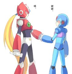 X and ZERO 3 by jiayulong on DeviantArt