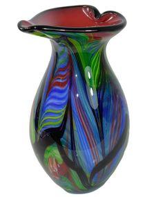 Die Königin der Glaskunst  Murano Glas Design:Große Vase~H~