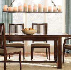 Beau Dining Room Candle Chandelier From Restoration Hardware