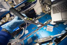 Space station microbes are no more harmful than those on earth   NASA