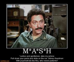 My favorite M*A*S*H line