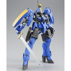 Mobile Suit Gundam Iron-Blooded Orphans High Grade 1/144 Plastic Model : Graze Ritter Commander Type [McGillis Fareed Use]