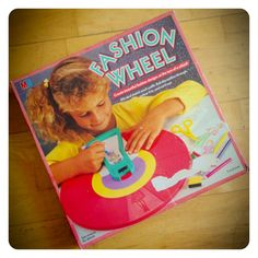 A Fashion Wheel to plan and draw out all your favorite outfits. Fashion Wheel, Old Love, 90s Kids, My Little Girl, Cool Toys, Childhood Memories, Your Favorite, To My Daughter, Retro Vintage