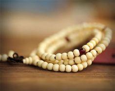 Sandalwood Buddhist Meditation Prayer Beads by Chasingdreams97