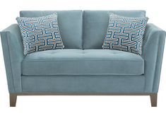 Loveseats for sale. Styles: power, sleeper & reclining 2-seater sofas for small spaces or large. Fabric and leather in tufted, classic, or modern decor.
