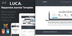 Luca :: Responsive Joomla Template   http://themeforest.net/item/luca-responsive-joomla-template/5530514?ref=damiamio         Luca is Modern, Clean, Fast Responsive Multi purpose theme that is in your hands! Luca is based on Warp 6 and It has full integration with Bootstrap and Uikit.That you have a lot choice in typography!            Need support ? Contact us or use item comment please !   Don't forget to rate , If you enjoy the luca or our support.  Why choose luca template?   Powerd…