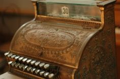 #vintage cash register