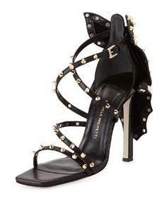 X29X3 Daniele Michetti Coline Studded Bow-Back Sandal