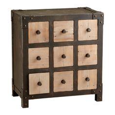 Cyan Design // Desmond 9 Drawer Cabinet