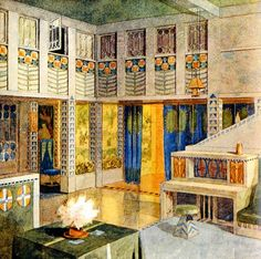 Villa Design, Eero Saarinen, Arts And Crafts Movement, Finland, Norway, Art Nouveau, Architecture, Classic, Painting