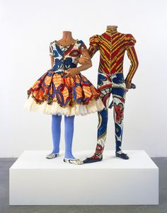 Yinka Shonibare, Figurative sculpture, sculpture of human form