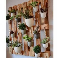 20 DIY garden wood projects for your home on a budget added to our site quickly. I share very enjoyable designs and ideas about 20 DIY garden wood projects for your home on a budget . I'm offering you examples of decorations so that … Diy Wood Projects, Garden Projects, Home Projects, Wood Crafts, Herb Wall, Herbs Indoors, Diy Garden, Garden Ideas, Garden Pallet