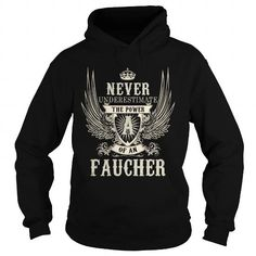 I Love FAUCHER FAUCHERYEAR FAUCHERBIRTHDAY FAUCHERHOODIE FAUCHERNAME FAUCHERHOODIES  TSHIRT FOR YOU Shirts & Tees