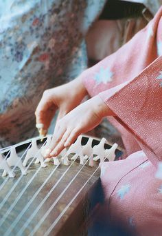 Japanese instrument, Koto 琴